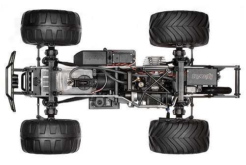 HPI Racing Nitro Monster King Chassis