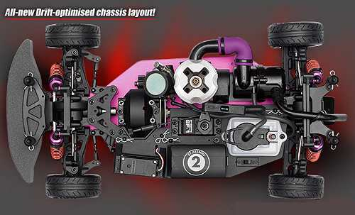 HPI Racing Nitro RS4 3 Drift Chassis
