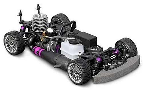 HPI Racing Nitro RS4 3 Evo Chassis