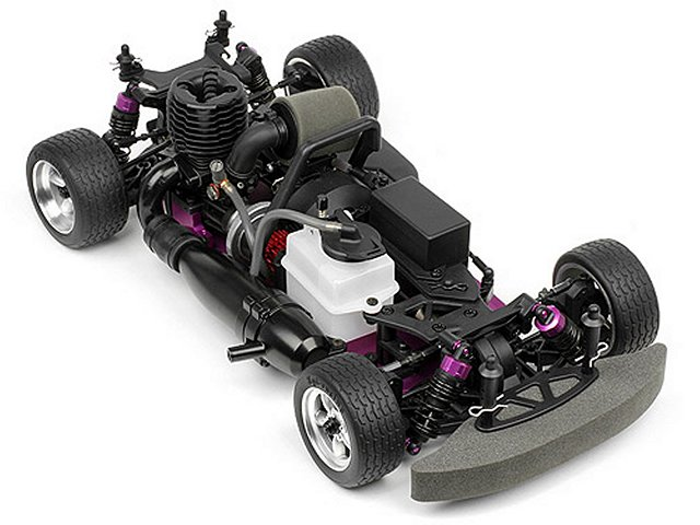 HPI RS4 3 18SS+ - 1:10 Nitro Touring Car