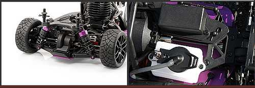 HPI Racing Nitro RS4 3 18SS Chassis
