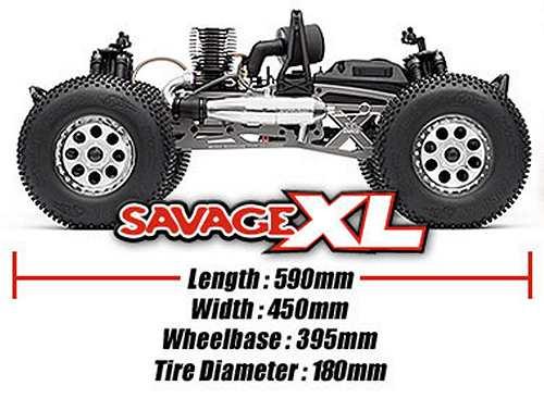 HPI Racing Savage XL Chassis