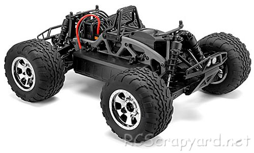 HPI Savage XS Flux Chassis