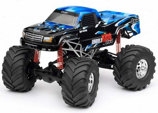 HPI Wheely King 4x4 - 1:12 Electric Monster Truck
