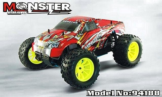 HSP 1:10 Nitro Monster Truck