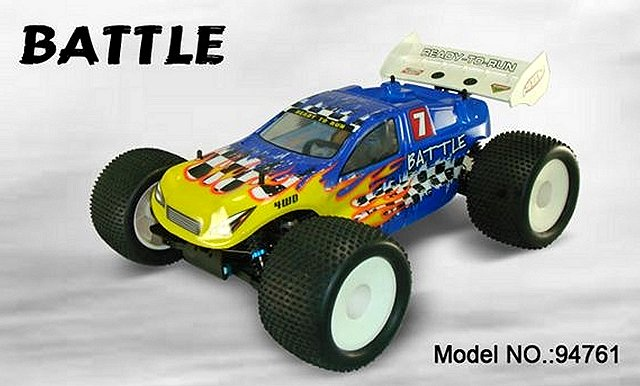 HSP Battle - 94761 - 1:8 Nitro Truggy