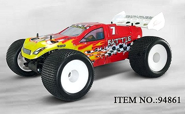 HSP Battle - 94861 - 1:8 Nitro Truggy