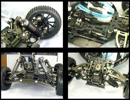 HSP BT9.5 94885 Chassis