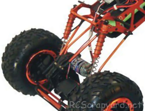 HSP Climbing Jeep 94883 Chassis