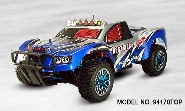 HSP Destrier EP Top - Rally Monster - 94170TOP - 1:10 Electric Truck