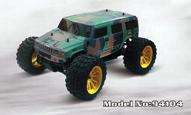 HSP Hammer - 94104 - 1:10 Nitro Monster Truck