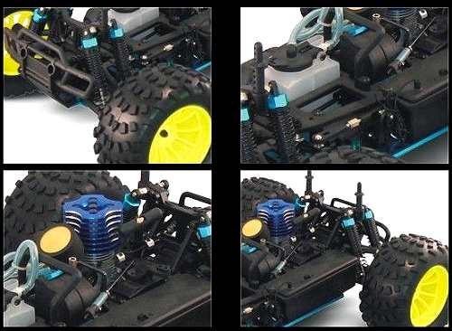 HSP Jeep 94119 Chassis