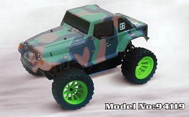 HSP Jeep - 94119 - 1:10 Nitro Truck