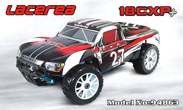 HSP Lacerea 18CXP+ - 94863 - 1:8 Nitro Rally Truck