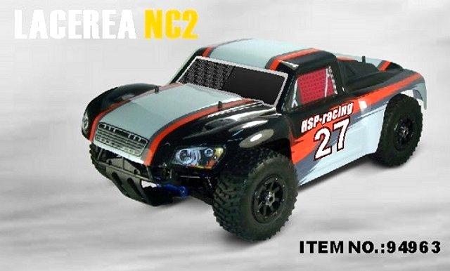 HSP Lacerea NC2 - 94963 - 1:8 Nitro Short Course Truck