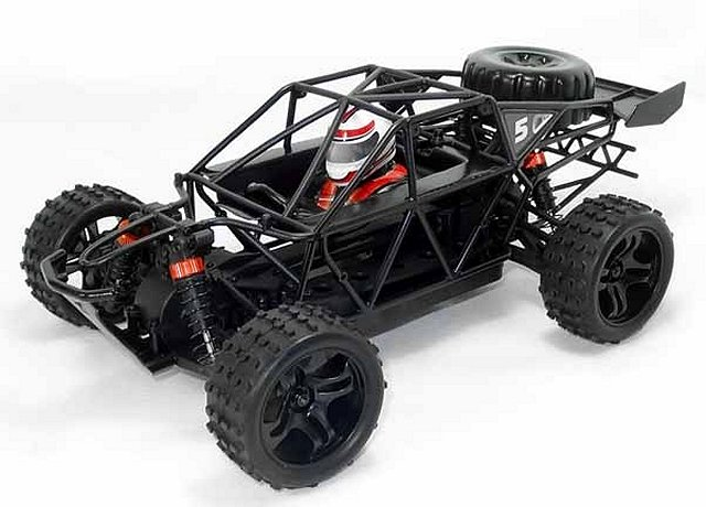 HSP Lizard BB Dune Buggy Chassis - 94810 - 1:18 Electric Buggy
