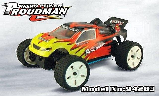 HSP Proudman - 94283 - 1:16 Nitro RC Truck
