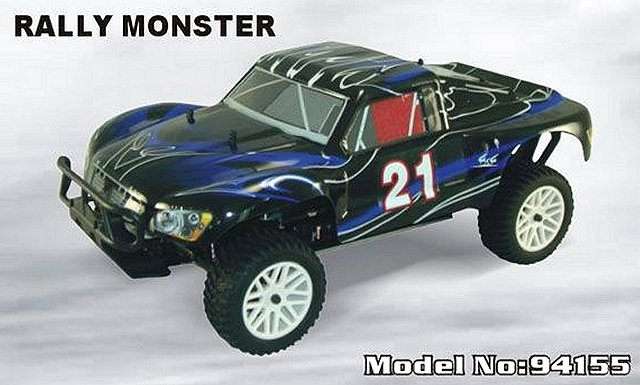 HSP Rally-Monster 2 Speed - 94155 - 1:10 Nitro Truck