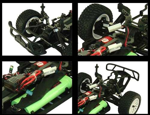 HSP Destrier - Rally Monster 94170 Chassis
