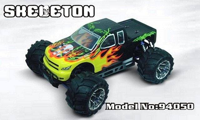 HSP Skeleton - 94050 - 1:5 Nitro Monster Truck