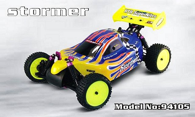 HSP Stormer - 94105 - 1:10 Nitro Buggy