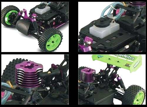 HSP Atomic Warhead 94106 Chassis