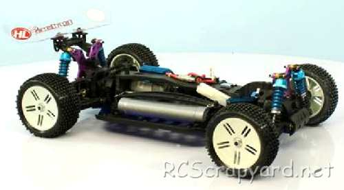 Heng-Long Stuck-Up Chassis