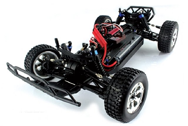 Himoto Desert XT10 Chassis - 1:10 Electric Truck