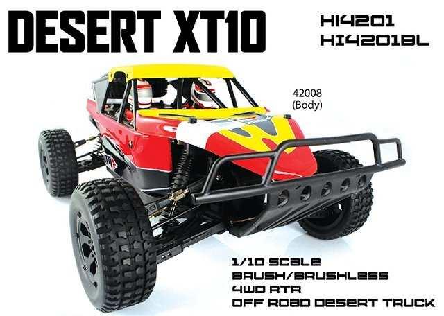 Himoto Desert XT10 - 1:10 Electric Truck