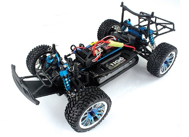 Himoto ETY-16 Chassis - 1:16 Electric Trophy Truck