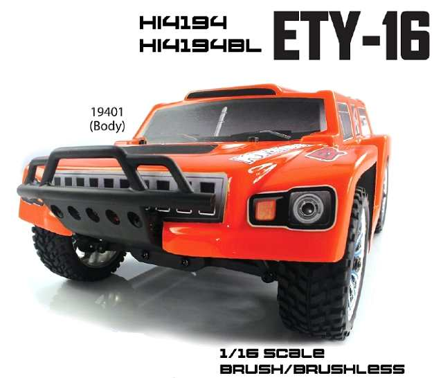 Himoto ETY-16 - 1:16 Electric Trophy Truck