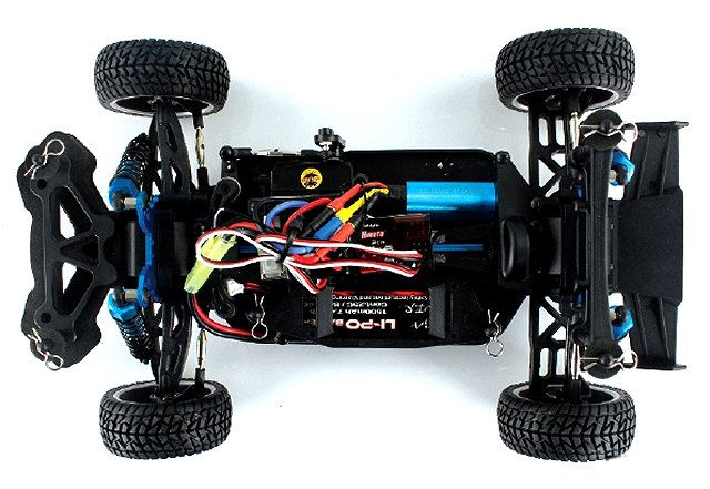 Himoto EXR-16 Chassis - 1:16 Electric Rally Car