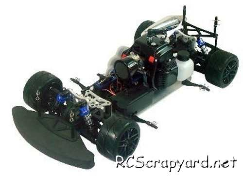 Himoto Megap MTC-5 Chassis