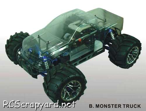 Himoto Megap Monster Truck