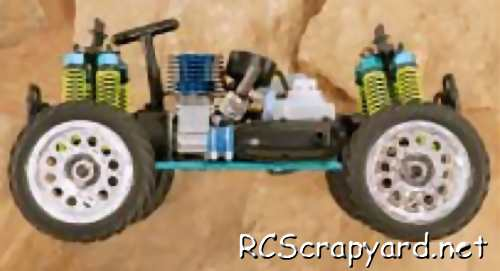 Himoto Megap Mini Cobra RZ1 Chassis