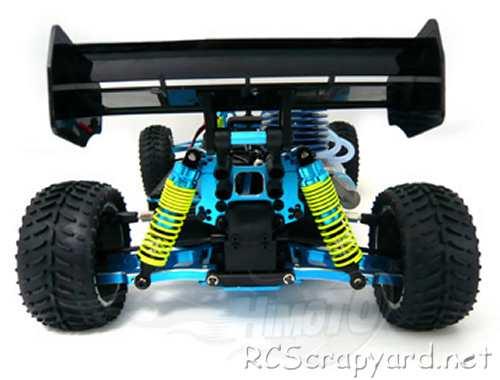 Himoto Python XV3 Upgrade Chassis
