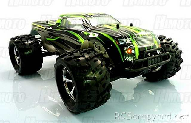 Himoto Raider - 1:8 Electric Monster Truck