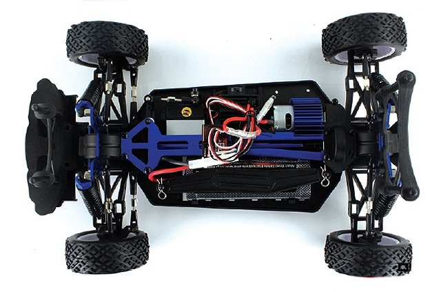 Himoto Rally X10 Chassis - 1:10 Electric Touring Car