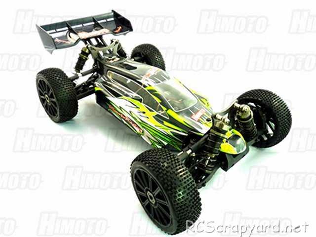 Himoto Shootout - E8XBL - 1:8 Electric Buggy