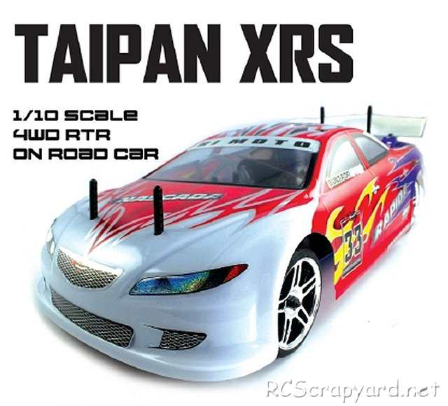 Himoto Taipan XRS - 1:10 Nitro Touring Car