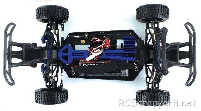 Himoto Trophy X10 Chassis - 1:10 Electric Truck