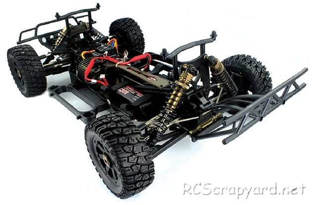 Himoto Trophy X5 Chassis - 1:5 Electric RC Truck