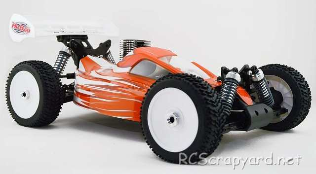 Hobao Hyper 7 TQ - 1:8 Nitro RC Buggy