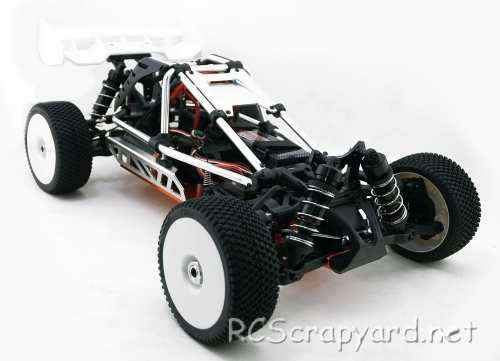 Hobao Hyper Cage Buggy-e Chassis