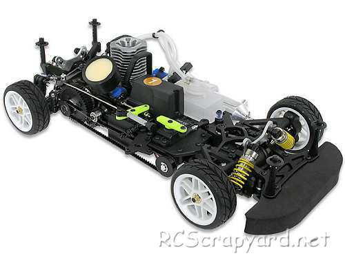Hobao Hyper GPX4 Chassis