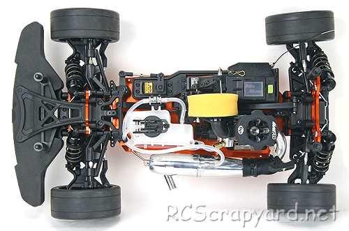 Hobao Hyper GTB Chassis