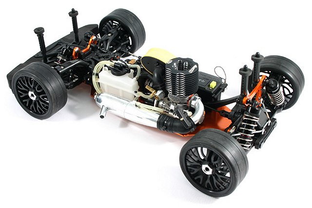 Hobao GTB Chassis - 1:8 Nitro Touring Car