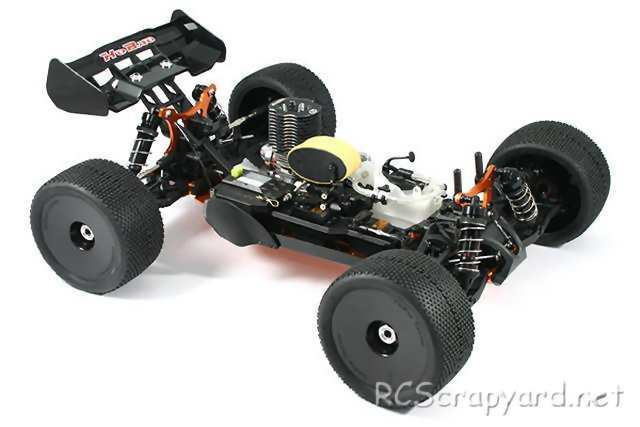 Hobao Hyper SS Truggy Chassis
