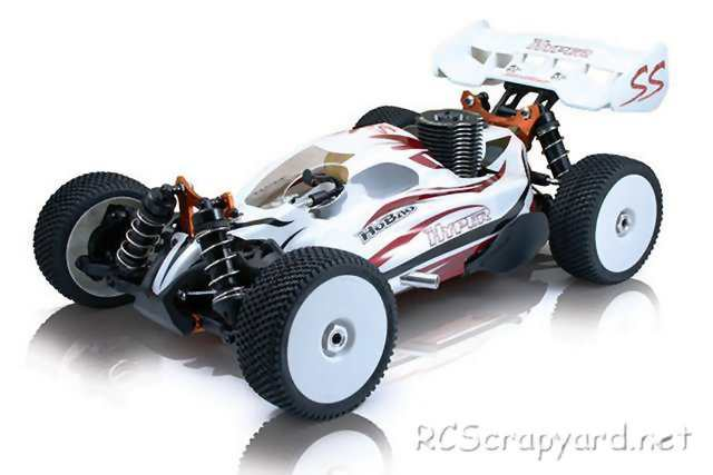 Hobao Hyper SS • (Radio Controlled Model Archive) • RCScrapyard