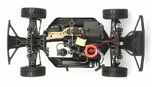 Hong Nor SCRT10 Nitro Truck Chassis